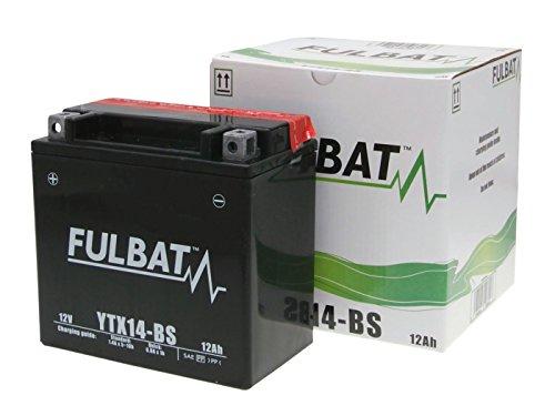 Fulbat YTX14L-BS MF - Batteria, non richiede manutenzio