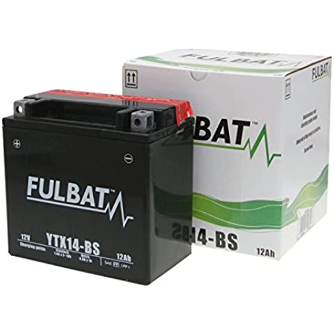 Batería fulbat YTX14-BS MF sin mantenimiento