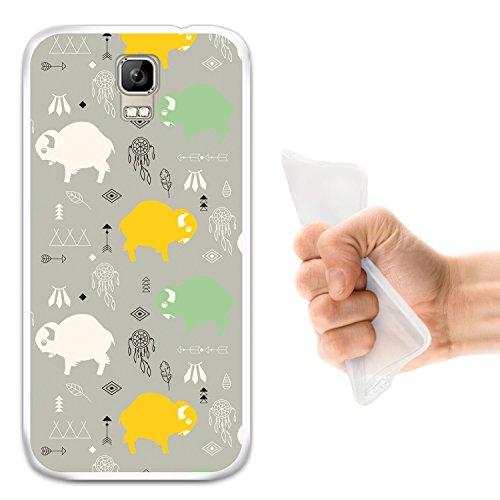 WoowCase Umi Rome Hülle, Handyhülle Silikon für [ Umi Rome ] Babybüffel Handytasche Handy Cover Case Schutzhülle Flexible TPU - Transparent