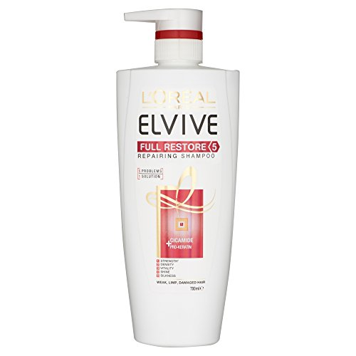 L'Oreal Elvive Full Restore 5 Damaged Hair Shampoo 700ml