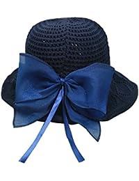 LAMEIDA Sombrero de Sol Plegable del Pescador del Sombrero de la Playa Gorro  de Lino para 61cd70d9a92