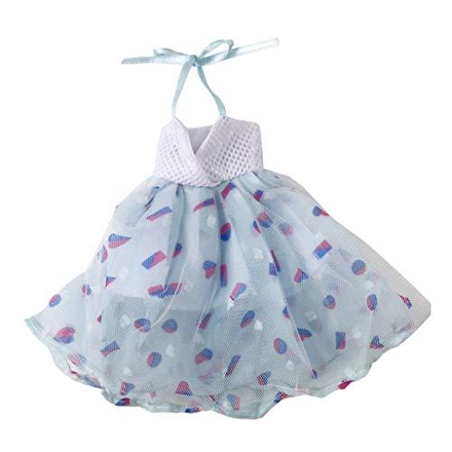 Baoblaze Elegante Puppe Kleid Prinzessin Abend Kleid Ballettkleid Party Kleidung für 1/6 Mädchen Puppen Dress Up Zubehör - F