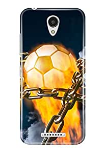 Noise Lenovo Vibe B Back Cover For Printed Lenovo B / Sports / World Cup Fever Design - (GD-1762)