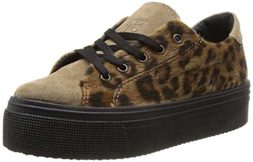No Box Alma, Damen Sneaker Braun - Marron (Leopard)