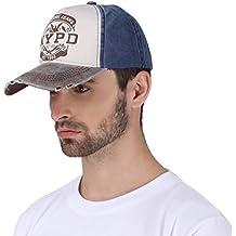 DALUCI Cap Baseball Cap Fitted hat Casual Cap Gorras 5 Panel Hip hop Snapback Hats wash Cap for Men Women Unisex