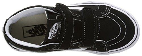 Vans Sk8-mid Reissue V - Scarpe da Ginnastica Basse Unisex – Bambini Nero (black/true white)