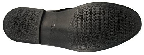 Clarks - Novato Mid, Stivali Uomo Nero (Black Leather)