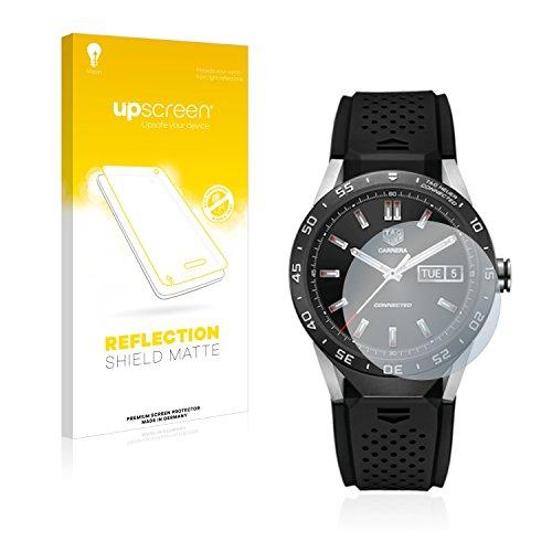 upscreen Entspiegelungs-Schutzfolie kompatibel mit Tag Heuer Connected 46 - Anti-Reflex Bildschirmschutz-Folie Matt