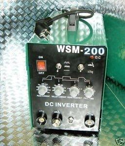 HST TIG WIG MMA WSM 200 Amp HF-Zün Schweißgerät Inverter Schweissgerät Hot Start