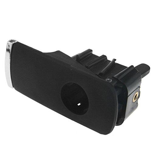 Neu schwarz Verschluss für Handschuhfachdeckel abschließbar für Audi A4 8E B6 B7