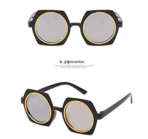 Sonnenbrille Kinder Sonnenbrille Baby Beschichtung Objektiv Sonnenbrille Fabrik Großhandel Uv400 Kind Eyewear Baby Schwarz Weiß