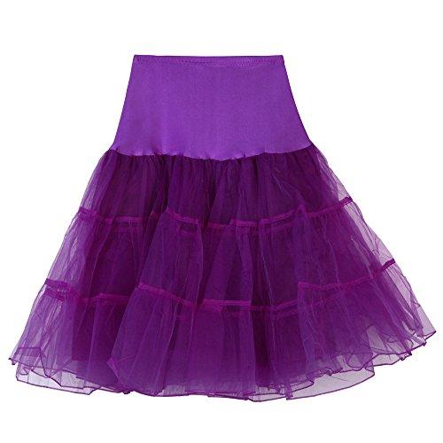 YBWZH Tüllrock Karneval Kostüme Mädchen Hoch Tailliert Damenrock Mini Petticoat Unterrock Faltenrock Plissee Spitzenrock Minirock Faschingskostüme Hohe Qualität Erwachsenen Tutu Tanzen Rock
