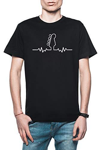 Rundi Bajo Guitarra Latido Corazón Hombre Camiseta