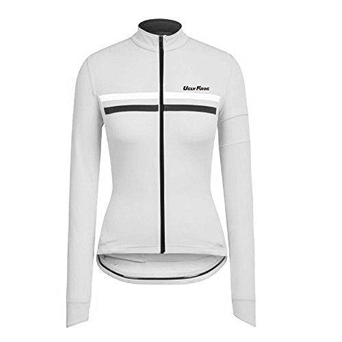 Uglyfrog LJW03 2018-2019 Neue Frühling & Herbst MTB Fahrradtrikot Langarm Shirt Damen Breathable Radfahren Fahrrad Lange Hülsen Jersey Fahrrad Hemd Frauen Langarm Fahrradbekleidung Radfahren -