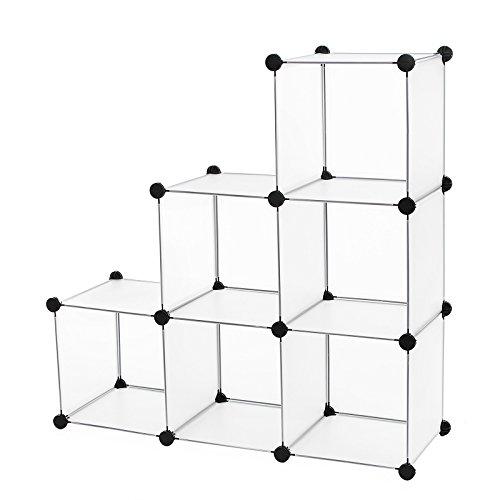 Songmics armadio armadietto guardaroba scaffale cubi mobiletto modulare 96 x 96 x 31,5 cm lpc111s