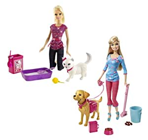Barbie - Bhg13 - Poupée - Barbie Animaux Rigolos