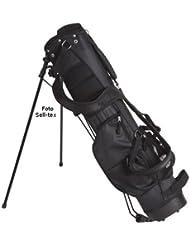 Bullet Golftasche halbsatz für bis zu 6 Schläger in schwarz NEU
