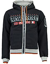 Geographical Norway - Sweat à capuche Enfant Geographical Norway Gunit Marine