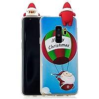 Everainy Samsung Galaxy S9 Plus Silikon Hülle 3D Weihnachts Muster Ultradünn Hüllen Handyhülle Gummi Case Samsung... preisvergleich bei billige-tabletten.eu