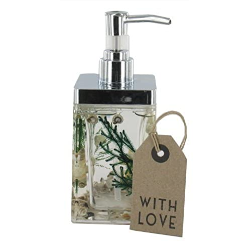 Nautical Soap/Lotion Dispenser   Beach Scene (GW527 V) Nautical Bathroom  Accessories With Gift Tag