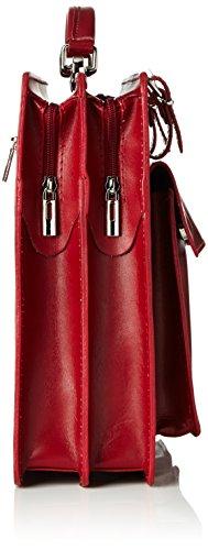 Bags4Less Unisex-Erwachsene Mondial Laptop Tasche, 10 x 30 x 40 cm Rot (Rot)