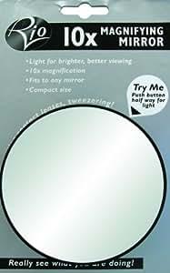 rio 10 fach vergr erungsspiegel mit beleuchtung. Black Bedroom Furniture Sets. Home Design Ideas