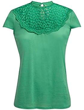 Naf Naf Camiseta Pamela Verde