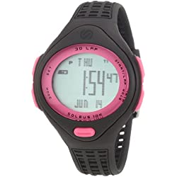 Soleus 10K Regular Running Watch - SR007 (sm plastic dirt/dirt/pink)