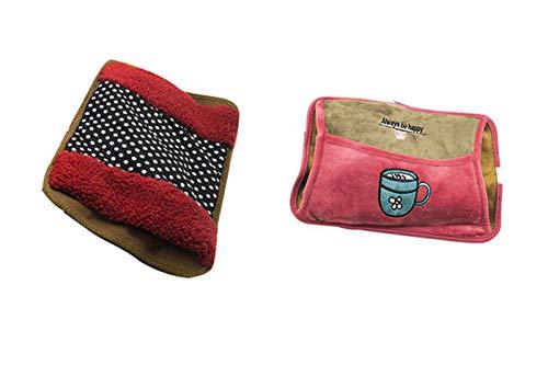 149fab3508 2pz borsa acqua calda elettrica borse tasca scalda mani piedi scaldaletto