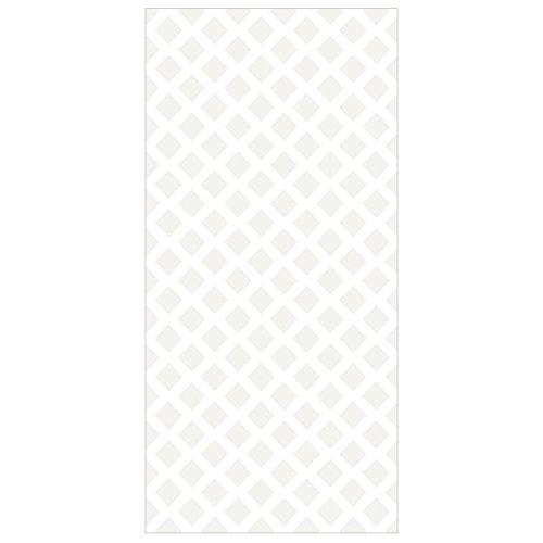 Apalis Raumteiler Rautengitter Hellbeige 250x120cm inkl. transparenter Halterung