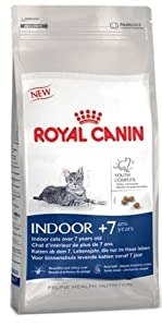 Royal Canin Indoor Cat Ageing 7+ Dry Mix 400 g (Pack of 4) from Crown Pet Foods