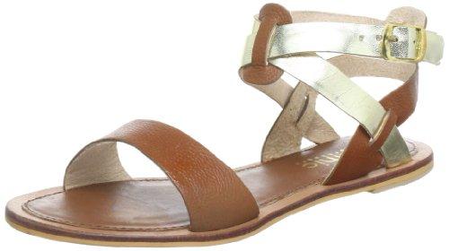 Mimic Copenhagen Suede Sandal w. Leather M131618 - Sandalias de cuero para mujer, color rosa, talla 38