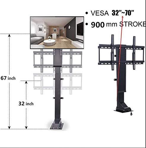 DCHOUSE 900 mm TV Mount Lift Plasma/LCD Motorisierte Fernseher TV Lift Mount Halterung Stroke platzsparend -