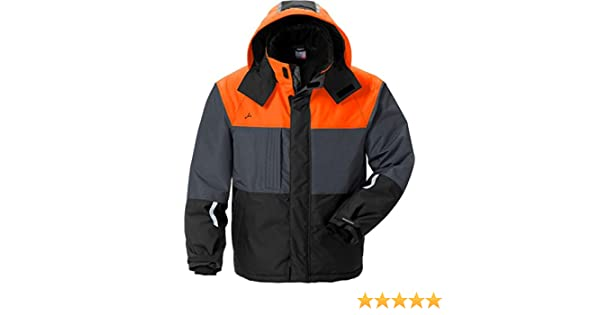 Fristad Kansas Jacket 4916 GTT 4XL BlackOrange 121651 984