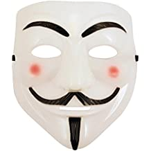 WMA Anonymous V For Vendetta Guy Fawkes Fancy Dress Hallowee Face Mask (máscara/ careta)