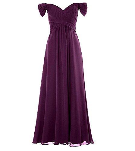 KA Beauty - Robe - Femme Prune