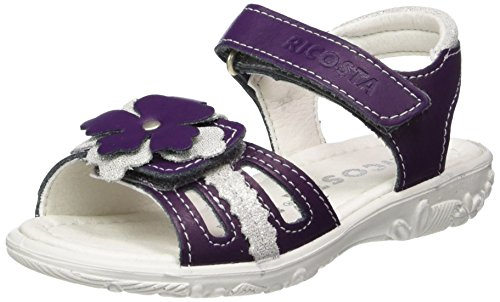 Ricosta Mädchen Mary Sandalen, Violett (Lavendel), 26 EU (Schuhe Mädchen Lavendel)