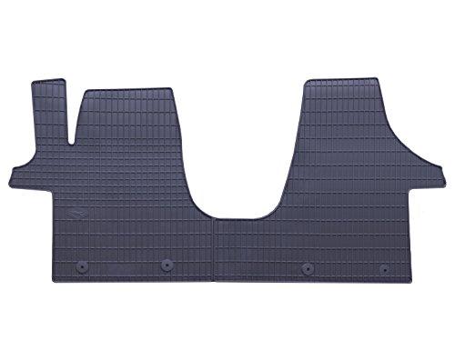 Automatten-Experts Auto-Gummimatten Fußmatten in Schwarz Geruch-vermindert und passgenau 809/1C