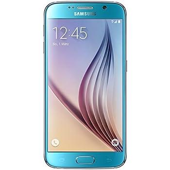 Samsung Galaxy S6 Smartphone débloqué 4G (5.1 pouces - 128 Go - Android 5.0 Lollipop) Bleu (import Allemagne)