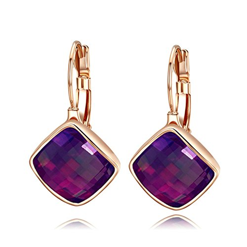 yoursfs-amethyst-crystal-leverback-earrings-women-square-drop-earrings-for-evening-party-purple-18ct