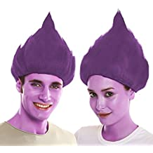 My Other Me Me-203825 Peluca Troll, Color Morado, Talla única (Viving