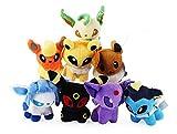 Pokèmon Conjunto de 4 juguetes de peluche Jigglypuff, Dragonite,...