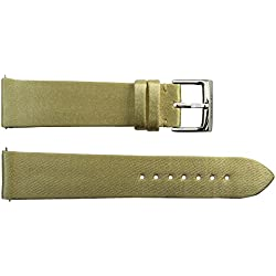 Watch Strap in Champagne Satin - 20 - - buckle in stainless steel - B20037