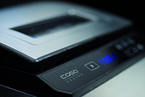 CASO SV900 Sous Vide Garer, perfektes Vakuum garen im Wasserbad für bis zu 5 Portionen, Niedertemperaturgarer 30°C bis 90°C in 0,1°C-Schritten - 4