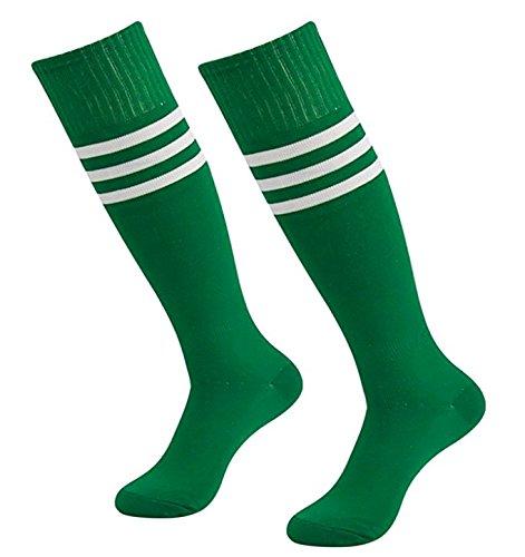 westeng 1par hombre mujer long-barreled rayas calcetines de animador