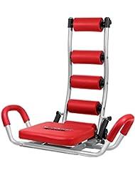 Fitness House AB Rocket Twister - Aparato para abdominales, color rojo, talla única