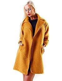 Boucle mantel gelb