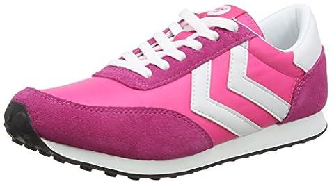 hummel SEVENTYONE LO, Unisex-Erwachsene Sneakers, Pink (Pink Glo 3650), 37 EU