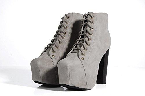 Jeffrey Campbell , Chaussures femme Gris - Gris