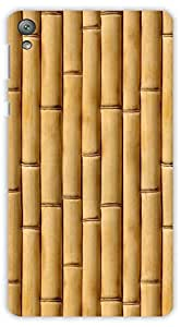 Crazy Beta BAMBOO TEXTURE Printed Back Cover For Sony Xperia E5
